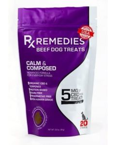Beef Dog Treats Calm & Composed