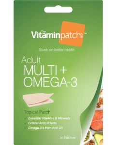 Vitaminpatch Multi Vitamins + Omega-3